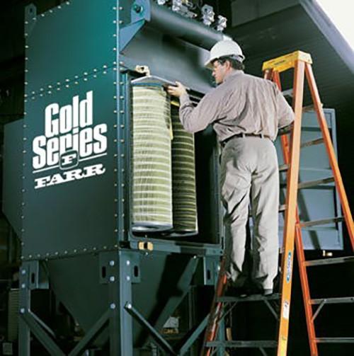 Man working on FARR air unit