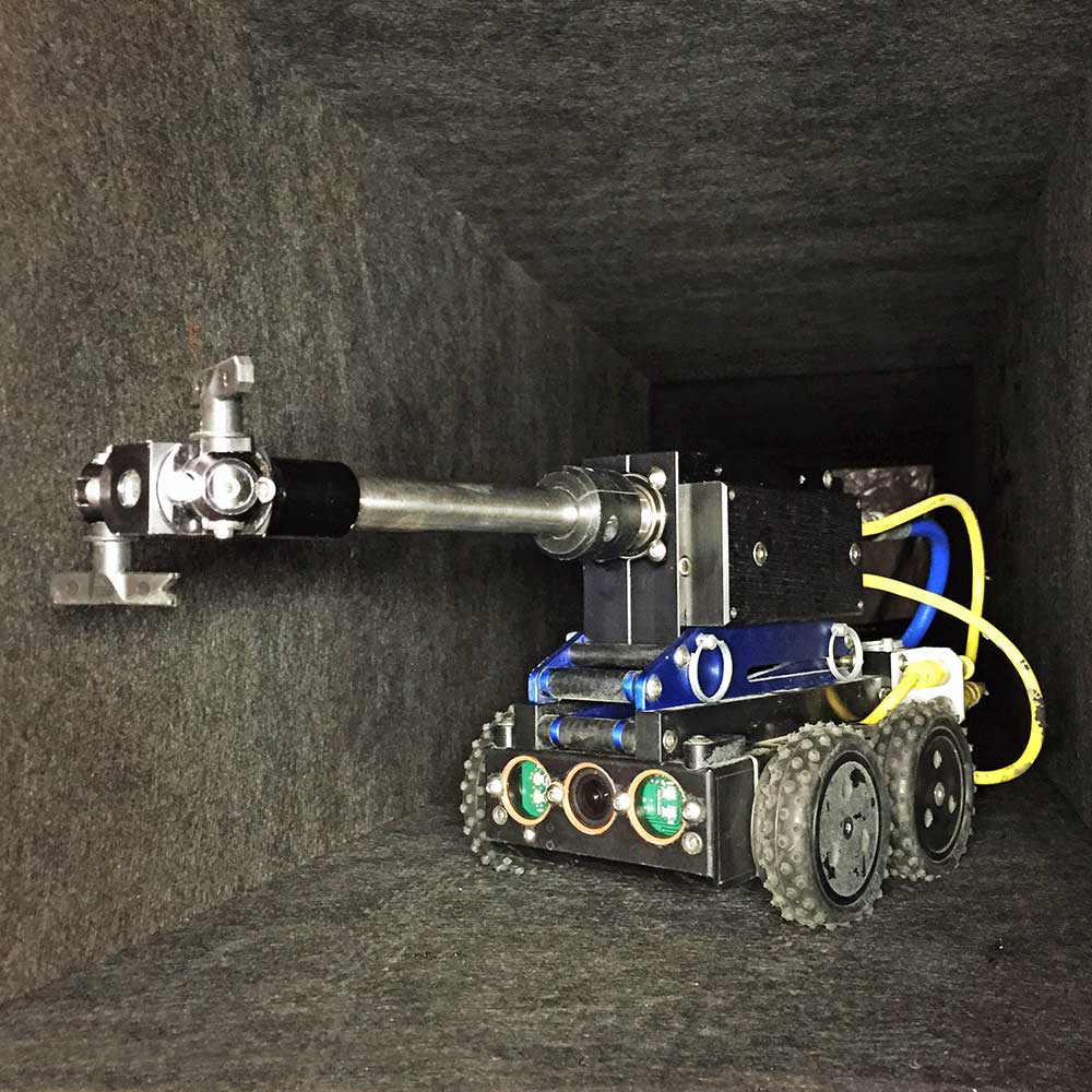 robotic device sealing ductwork